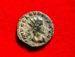 Ancient Coins - Claudius II Gothicus (09/268-06-08/270) bronze antoninianus (2,78 g. 20 mm.) Siscia mint, A.D. 269. AEQVITAS AVG