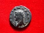 Ancient Coins - Extremely rare Gallienus (A.D. 253-268) bronze antoninianus (21 mm, 3,14 g.), Mediolanum mint.(Bust to left). PAX AVGVSTI.