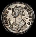 Ancient Coins - PROBUS (276-282). Antoninianus. Rome. - SOLI INVICTO // R ⊍ Є - Sol driving quadriga left.