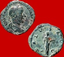 Ancient Coins - Roman Empire - Gordian III (238-244 A.D.) bronze sestertius (17,85 g,. 29 mm.) Rome mint. 238-239 A.D. SALVS AVG, Salus. RIC 260.
