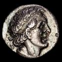 Ancient Coins - Ancient Greek - Ptolemaic Kingdom of Egypt. Ptolemy I Soter (305-282 BC). Silver Tetradrachm. (13,76 g., 29 mm.). Minted in Alexandria, ca. 300-285 BC.