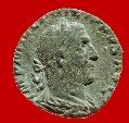 Philippus I (244 - 249 A. D) bronze sestertius.Rome. AEQVITAS. AVGG. S