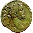 Ancient Coins - Roman Empire - Septimius Severus (A.D. 193-211) bronze sestertius (21,30 g 30 mm.), Rome mint, 194 A.D.