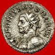 Ancient Coins - Carinus, as Caesar (283-285) silver antoninianus (3,85 g. 22mm), Lyon mint, AD 282-283.