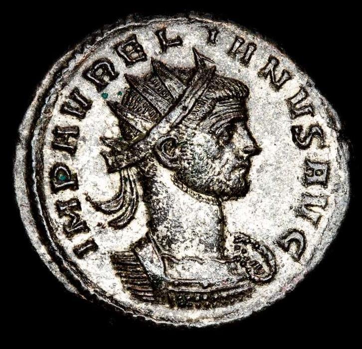 Ancient Coins - Aurelian - Rome, AD 270-275. BI Silvered Antoninianus. - ORIENS AVG - ✯ // XXIR Sol