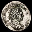 Ancient Coins - Unusual bust of Caracalla AD 211-217. Rome Antoninian AR. - VENVS VICTRIX