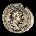 Ancient Coins - Elagabalus - AR Antoninianus. Rome, AD 218-219. - FIDES EXERCITVS Fides.