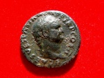 Ancient Coins - Titus as Caesar (AD 69-79) bronze as (12,00 g. 26 mm.). Rome mint, A.D. 72. AE - QVITAS - AVGVSTI S - C.