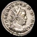 Ancient Coins - Valerianus I (253-260 AR) AR Antoninianus, Cologne. - ORIENS AVGG, Sol.