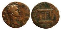 Ancient Coins - Augustus as. Restitution of Nerva. 96-97 AD.