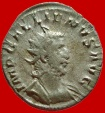 Ancient Coins - Roman Empire - Gallienus (253-268) silver antoninianus ( 2,54 g , 21 mm). Cologne minted 257 A.D.. IOVI VICTORI. IMP CES.