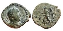 Ancient Coins - Valerianus I, AE sestertius 253 AD. VICTORIA AVGG S–C.