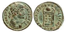Ancient Coins - Constantine I AE follis. 321 AD. BEATA TRANQVILLITAS, PTR.