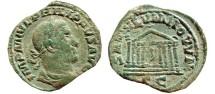 Ancient Coins - Philip I AE sestertius, Rome, Ca. 248 AD. SAECVLVM NOVVM S-C. RARE.