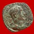 Ancient Coins - Roman Empire - Gallienus (253-268 A.D.) bronze sestertius ( 16,72 g, 29 mm.), Rome mint. CONCORDIA EXERCIT.