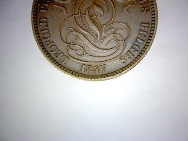 World Coins - BELGIUM, Leopold I, Copper 10 CENTIMES 1847/37