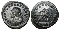 Ancient Coins - Probus Silvered Æ Antoninianus. Serdica mint.