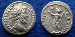 Ancient Coins - SEPTIMIUS SEVERUS – DENARIUS – LAODICEA – SOL – Near EF!