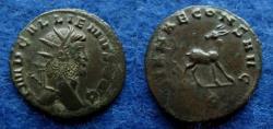 Ancient Coins - GALLIENUS – ANTONINIANUS – ROME – STAG – Good VF – ex STOECKLIN coll.!