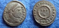 Ancient Coins - CRISPUS CAESAR – FOLLIS – TREVERI – VOT X – EF!