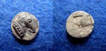 Ancient Coins - KYME – AEOLIS – TETARTEMORION – HORSE'S HEAD – BEAUTIFUL!
