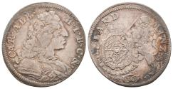 World Coins - GERMANY – BAVARIA – Karl Albert – 30 KREUZER – 1733 – RARE YEAR!