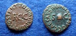 Ancient Coins - CALIGULA – QUADRANS – ROME – RCC – Near VF!