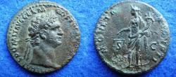 Ancient Coins - DOMITIANUS – AE-AS – ROME – MONETA – VF!