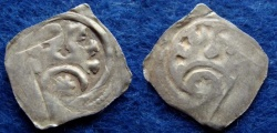 World Coins - AUSTRIA – OTTOKAR II 1260-1276 – Pfennig – GRAZ – CNA D22 – Near VF!