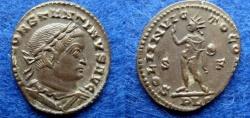 Ancient Coins - CONSTANTINE I – FOLLIS – LYON – SOL – EF!