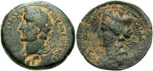 Ancient Coins - Syria, Laodicia ad Mare, Antoninus Pius. A.D. 138-161. Æ 27 mm. VF/Fine.