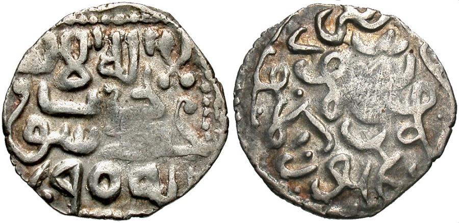 World Coins - Timurids. Timur. 771-807/1370-1405. AR dirhem. Samarqand, AH 790. VF.
