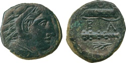 Ancient Coins - Alexander III, The Great (336-323 B.C.), Æ 18m. EF