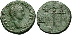 Ancient Coins - Bithynia, Nicaea. Severus Alexander. A.D. 222-235. ' 21 mm. VF, green and brown patina.