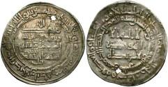 World Coins - Abbasids, Al Mutamid. 870/92. AR dirhem. Near VF.