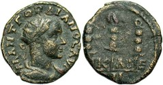 Ancient Coins - Nicaea, Bythinia, Gordian III. A.D. 238-244. Æ 16 mm. Fine.