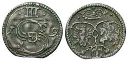 World Coins - Poland. Sigismund III. 1619. Trseciak. Toned VF.