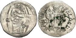 World Coins - Ragusa. 1294-ca. early 1500s. AR Denar. VF.