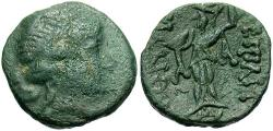 Ancient Coins - Thrace, Mesembria. Ca. 2nd century B.C. ' 18 mm. VF.