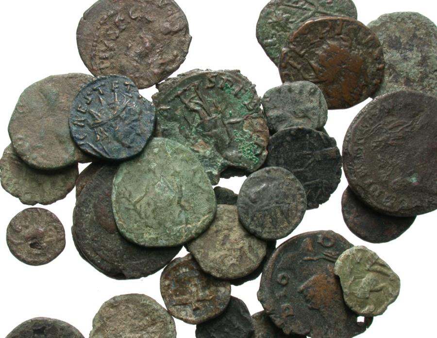 Ancient Coins - [Roman Imperial]. Lot of twenty-nine Æ 'barbarous' radiates and imitations.