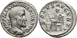 Ancient Coins - Maximinus I 'Thrax'. A.D. 235-238. AR denarius. Rome, A.D. 236. FDC, lustrous and sharp.