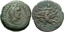 Ancient Coins - Egypt, Alexandria. Antoninus Pius. A.D. 138-161. Æ drachm. Year 10 (A.D. 146/7). Good VF, dark brown-green patina.