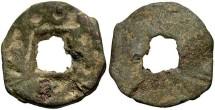 Ancient Coins - Sogd, Samergand, Ikshid Turger. A.D. 738-775. AE Cash. Fine.
