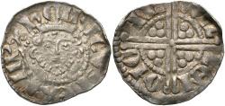 World Coins - England. Henry III. 1216-1272. AR penny. Class Vg. Canterbury. Willem, moneyer. Good VF.