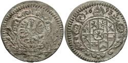 World Coins - Poland, Wroclaw. Franciszek Ludwik. 1693. AR Grosik. UNC.