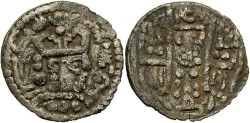 World Coins - Abbasids in Bukhara, Caliph al Mahdi. A.D. 770-785. Billon dirham. VF.