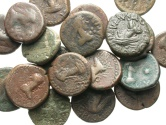 Ancient Coins - [Greek]. Lot of nineteen Æ staters of the Bosporan Kingdom, all different.