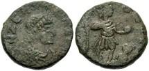 Ancient Coins - Zeno. A.D. 474-491. Æ 16 mm. Cherson, ca. A.D. 476-491. Near VF.