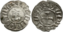 Ancient Coins - Armenian Kingdom. Hetoum II. 1289-1293. BI 'denier'. Good VF, very rare, especially this well preserved.