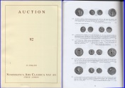 Ancient Coins - Numismatica Ars Classica (NAC) Auction 92 - May 23-24, 2016